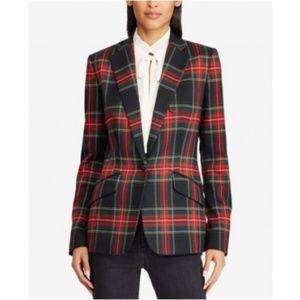 Ralph Lauren Tartan Plaid Check Jacket Blazer